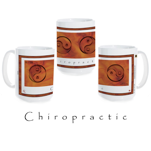 Yin Yang Coffee Mug-Chiropractic-Fire-Ceramic Coffee Mug