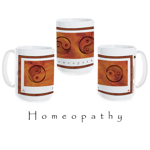 Yin Yang Coffee Mug-Homeopathy-Fire-Ceramic Coffee Mug
