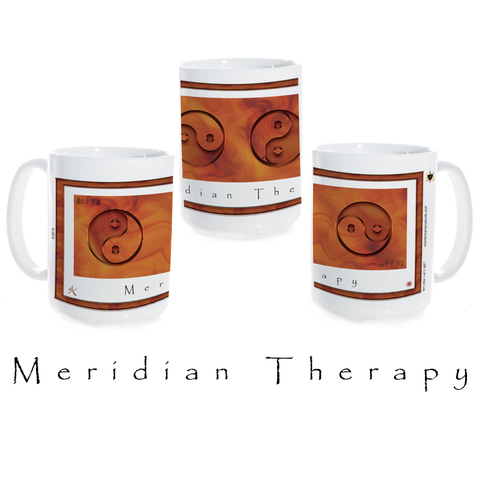 Yin Yang Coffee Mug-Meridian Therapy-Fire-Ceramic Coffee Mug