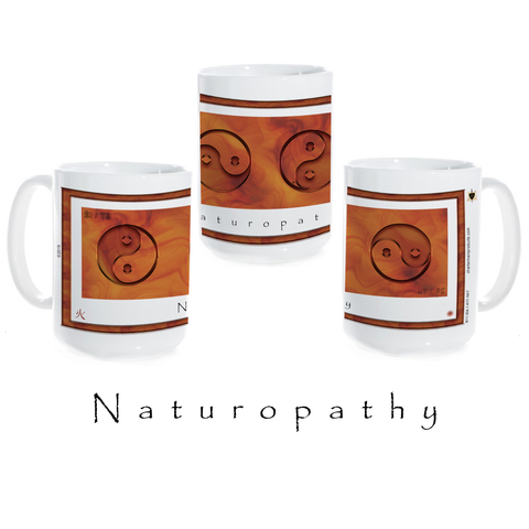 Yin Yang Coffee Mug-Naturopathy-Fire-Ceramic Coffee Mug