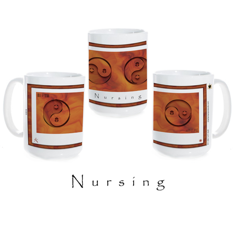 Yin Yang Coffee Mug-Nursing-Fire-Ceramic Coffee Mug