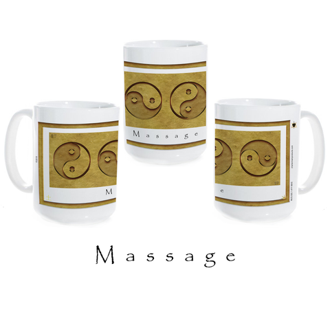 Yin Yang Coffee Mug-Earth-Massage-Ceramic Coffee Mug