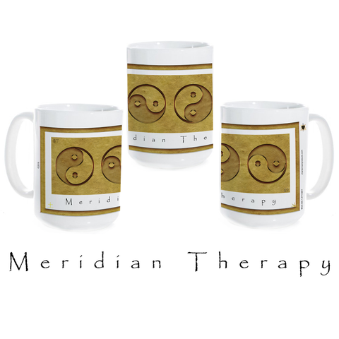 Yin Yang Coffee Mug-Meridian Therapy-Earth-Ceramic Coffee Mug