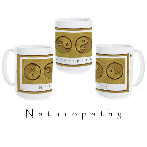 Yin Yang Coffee Mug-Earth-Naturopathy-Ceramic Coffee Mug