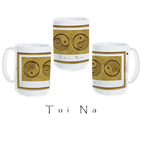 Yin Yang Coffee Mug-Earth-Tui Na-Ceramic Coffee Mug