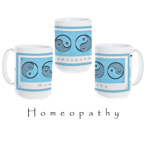 Yin Yang Coffee Mug-Water-Homeopathy-Ceramic Coffee Mug
