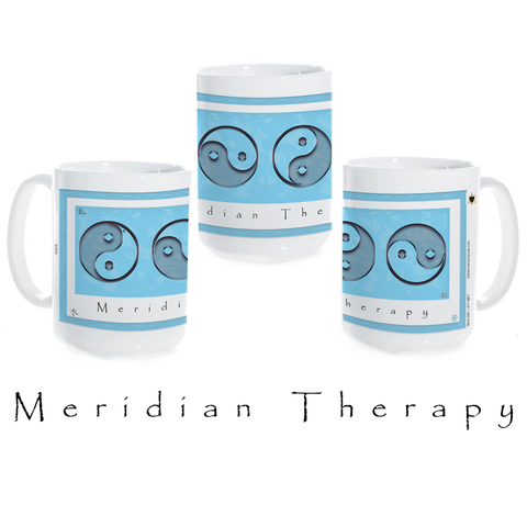 Yin Yang Coffee Mug-Water-Meridian Therapy-Ceramic Coffee Mug