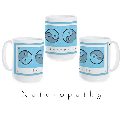 Yin Yang Coffee Mug-Water-Naturopathy-Ceramic Coffee Mug