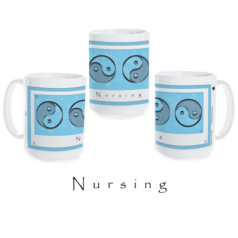 Yin Yang Coffee Mug-Water-Nursing-Ceramic Coffee Mug