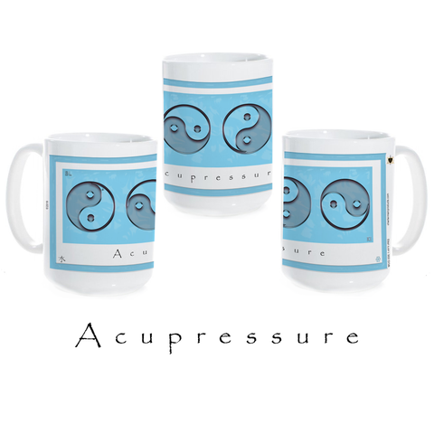 "Yin Yang Coffee Mug ""Water"" (Acupressure)"