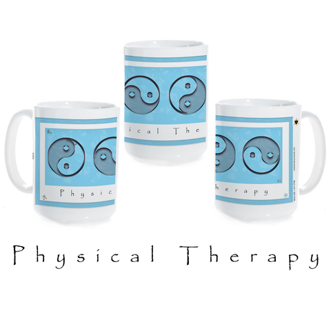 Yin Yang Coffee Mug-Physical Therapy-Water-Ceramic Coffee Mug