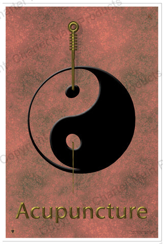 "Balancing Health Poster ""Fire"" (Acupuncture)"