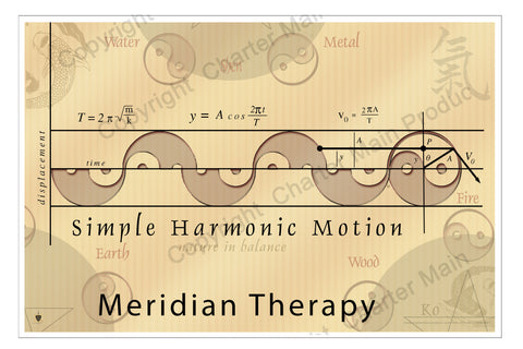 Simple Harmonic Motion-Poster-Meridian Therapy-mixes Meridian Therapy with Western science concepts