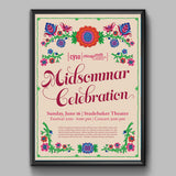 Midsommar Celebration Tour Kick-Off Poster June 2019