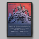 Orchestra Hall Fall 2018 Poster (Fountains of Rome)