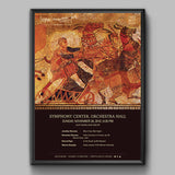 Orchestra Hall Fall 2016 Poster (Roman Festivals)