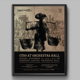 Orchestra Hall Fall 2019 Poster (Transcend)