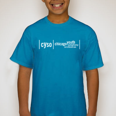 Youth Blue Short Sleeve Tee