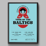 Tour of the Baltics 2019 Poster