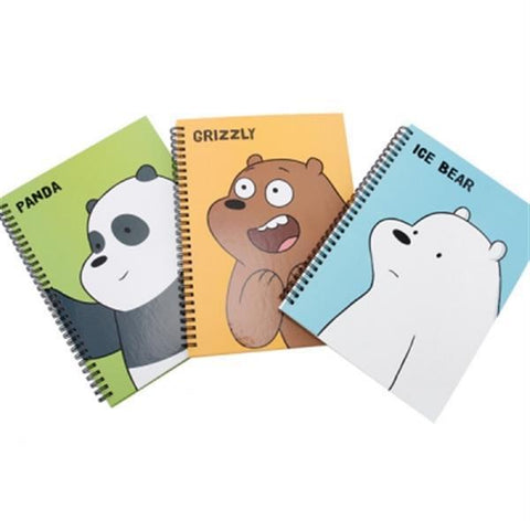 We Bare Bears Hard Cover Note