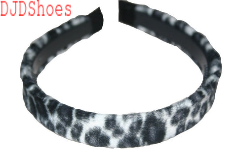 Animal Print Furry Hair Band (Various Colours)
