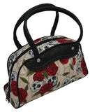 Medium Skulls and Roses Bag (Various Colours)
