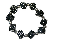 Load image into Gallery viewer, Thick Dice Bracelet (Various Colours)