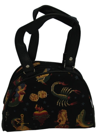 Small Tattoo Motif Bag (Various Colours)