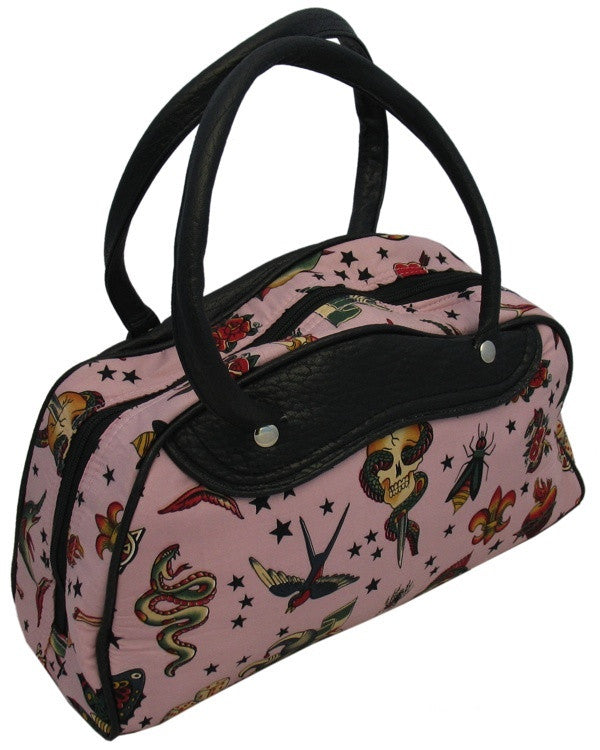 Medium Tattoo Motif Bag (Various Colours)