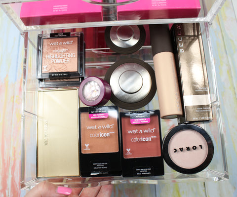 Love For Lacquer and Boxy Girl offers tips on stylizing your beauty organizer.