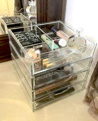 Buy Boxy Girl Acrylic Makeup Organizer