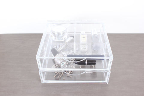 Boxy Girl Clear Vanity Makeup Organizer