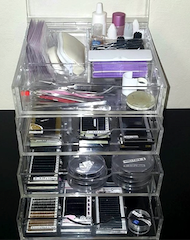 For Sale Boxy Girl Acrylic Makeup Box