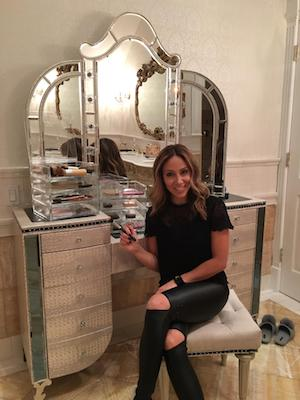Melissa Gorga Boxy Girl Jewelry Makeup Box Organizer with Storage Drawers