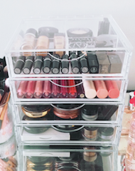 Buy Online Clear Makeup Organizer