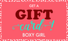 Boxy Girl® Gift Card - Acrylic Makeup Organizer with Drawers