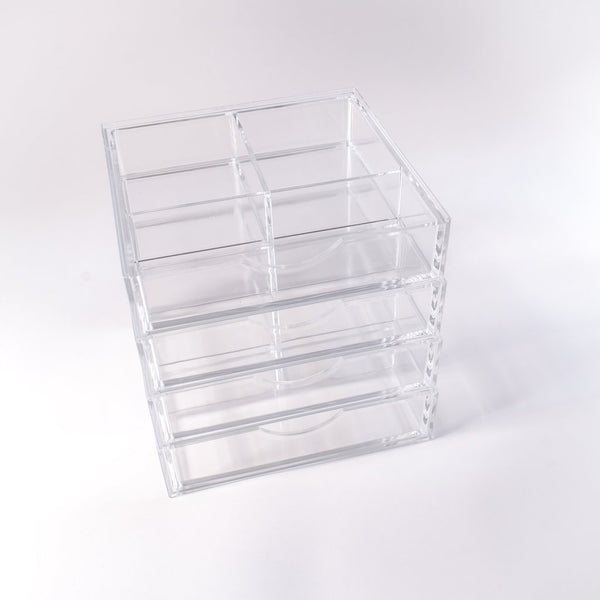 Boxy Girl® Four Stack - Acrylic Makeup Organizer with Drawers