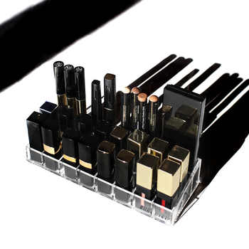 Boxy Girl® Half Lip Stack - Acrylic Makeup Organizer for Lipstick