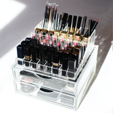 Boxy Girl® Lip Stack - Boxy Girl, Luxe Organizer - Acrylic Makeup Organizer with Drawers,