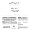 Product label for AWAKE