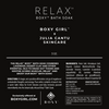 Product label for RELAX