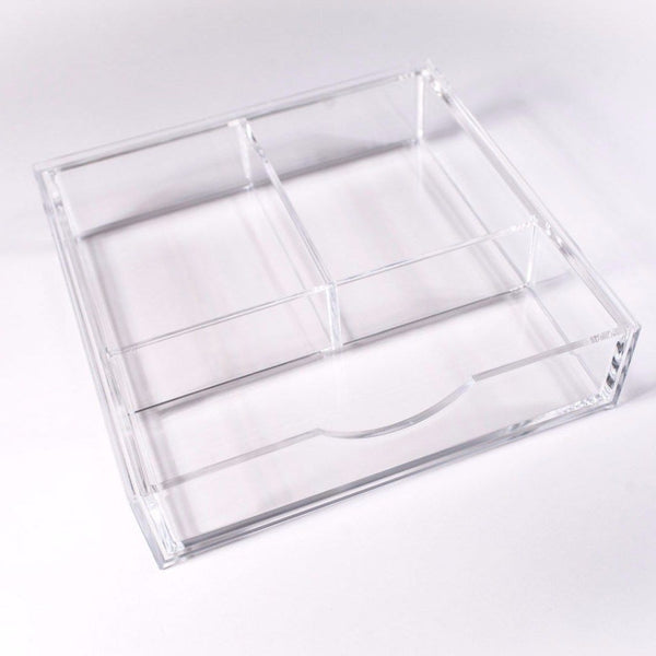 Boxy Girl® Single Stack - Acrylic Makeup Organizer with Drawers