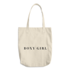 Boxy Girl® Classic Collection Cotton Tote Bag