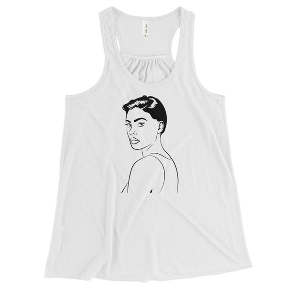 Boxy Girl Pop Collection Women's Tank