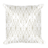 Boxy Girl Gold Collection Square Pillow
