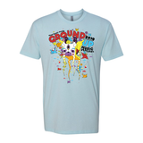 2019 GroundUP Fest Graphic T-Shirt (Blue)