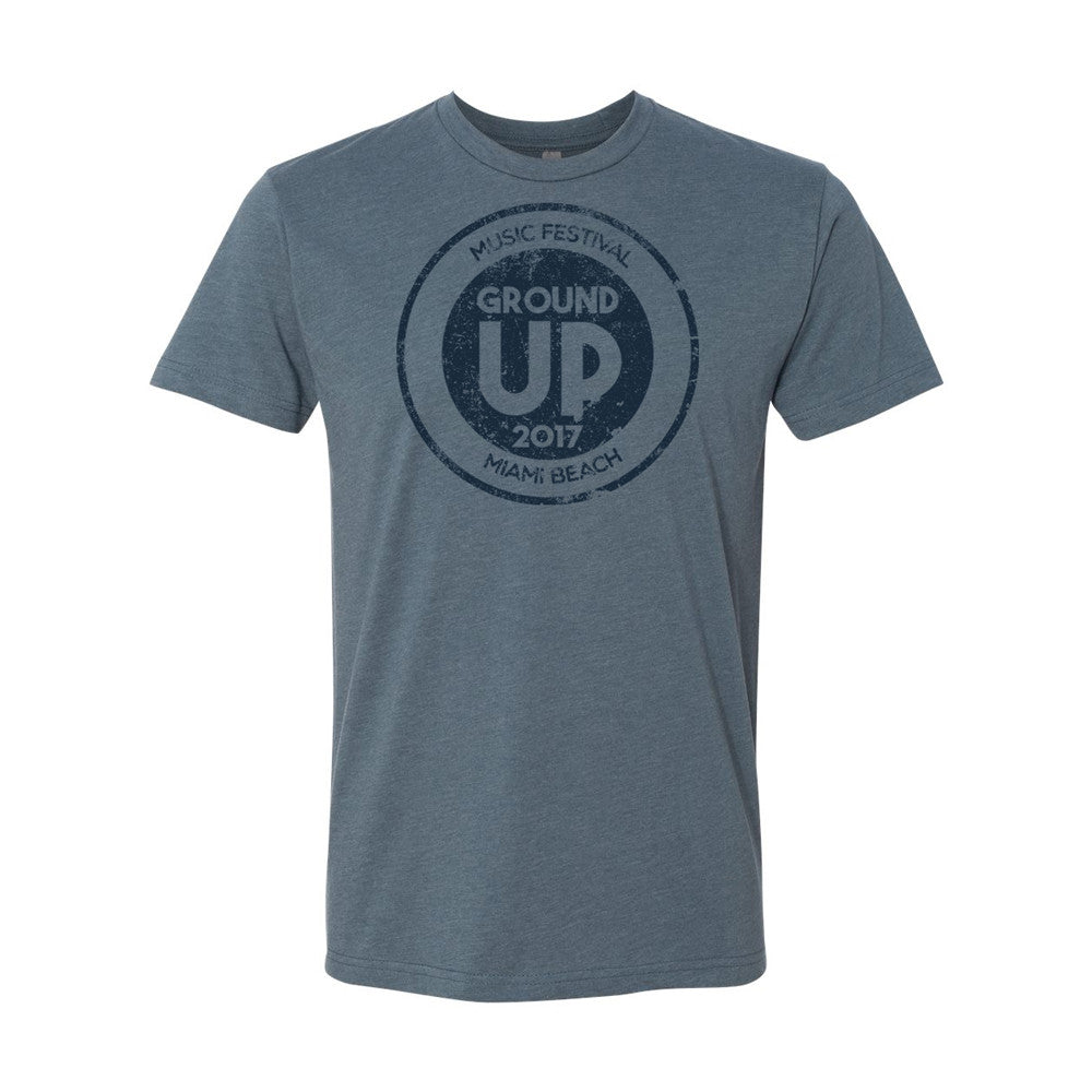 2017 GroundUP Music Festival T-Shirt (Indigo)