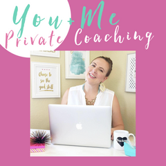 You + Me Coaching: 1 Hour Private Coaching Session