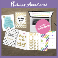 Teach Happy Planner Accessories Pack