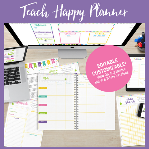 Essential Teach Happy Planner